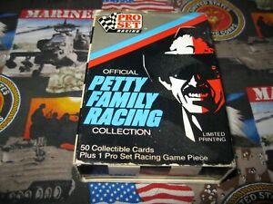 1991 Pro Set Original Petty Family Racing Box Set 50 cards