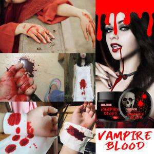 Fake Blood Plasma Cream Halloween Artificial Fake Blood Scary Makeup Props