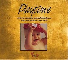 PLAYTIME: Active & Energetic Classical Melodies (CD 1999) *NEW* Baby Music Fun!