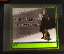 Little Miss Smiles 1922 Vintage Glass Slide Fox Shirley Mason