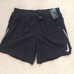"*BRAND NEW* Men NIKE Flex Stride 7"" 2 In 1 Running Shorts Black Sz XL CT7943-010"