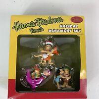 The Flintstones Hanna-Barbera Ornaments Set American Greetings NEW