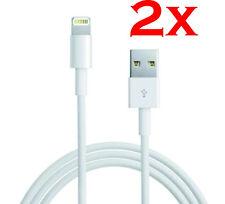2x 2m Lightning Ladekabel Kabel für original Apple iPhone 5 5S 6Plus 7 8 X iPad