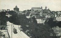 AK - Nürnberg Hallertor Panorama Strassenbahn 1915 - Bayern