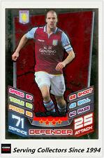 2012-13 Match Attax Extra Series Captain Card #C2 Ron Vlaar (AVFC)