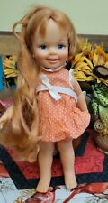 Vintage 1972 Ideal Toy Corporation CINNAMON DOLL with Growing Hair CRISSY FAMILY
