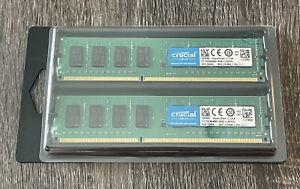 Crucial 16GB 2x 8GB DDR3L- 1600U Desktop Memory CT102464BD160B