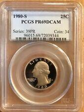 USA - Washington Quarter - 25 Cents - 1980-S - PCGS PR69DCAM - FREE SHIPPING!