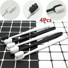 4Pcs/Set  Nano Ultra-fine Soft Bristle Toothbrush Oral Care Clean Adult Children