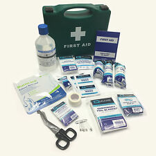 QUALICARE MEDIUM TRAVEL IN CAR CARRY CASE PREMIUM CAMPING EMERGENCY FIRSTAID KIT