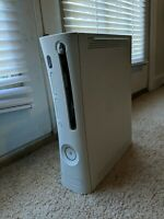 Microsoft Xbox 360 White CONSOLE ONLY for PARTS or REPAIR