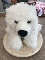 """Build A Bear Polar Bear Plush Stuffed Animal White BABW 15"""""""