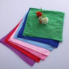 10Pcs Microfibre Cloth Towel Car Valeting Polishing Duster Cleaning Wash Cloth