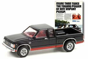 GREENLIGHT #39080 - BLACK 1983 CHEVROLET S-10 MAXI CAB [PREORDER]