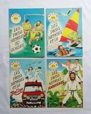 Lot BD - Les Pieds Nickelés 1 2 3 4 / JACABO / EO 1982 / SPE VENTILLARD