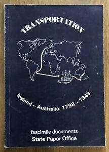 Transportation Ireland Australia 1798 1848 Facsimile Documents Voyage Conditions