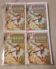 Lot of 4 MANDY Children's Chapter Books GUIDED READING Teacher JULIE EDWARDS