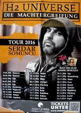 SOMUNCU, SERDAR - 2016 - Tourplakat - H2 Universe - Tourposter