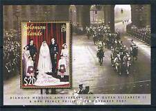 Solomon Is 2007 Queen's Diamond Wedding MS SG1227 MNH