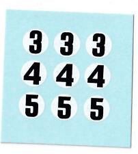 1/43 Marsh Models McLaren number decals (original)