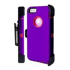 For iPhone 8 PLUS Defender Rugged Case Screen Protector & Holster Fit Otterbox