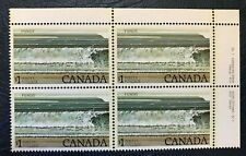 Canada #726, 1979 $1 Fundy, Corner Block Unused MNH