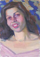 PORTRAIT 1950,Armenia,Soviet Impressionism,Oil Painting,Armenian Art,HARUTYUNYAN