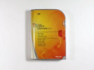 Microsoft Office 2007 Ultimate Retail Vollversion, deutsch - neu, SKU: 76H-00053