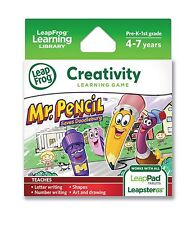 LeapFrog Learning Game Mr Pencil Saves Doodleburg Game