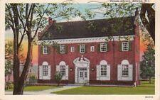 Postcard Dennis Library Newton NJ