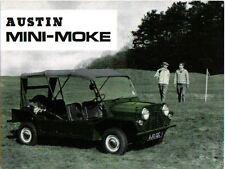 Austin Mini Moke circa 1966 Original UK Market Sales Brochure Pub. No. 2418