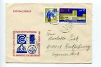 6740) DDR 1970 Cover Broadcasting System 2v