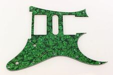 Green Pearl Pearloid front route Guitar Pickguard fits RG550 Jem RG HSH