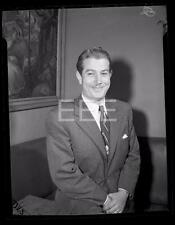 1946 Charles Fredricks Candid Actor Old Photo Negative 137A