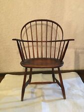Original Antique Late 1700's/Early 1800's Sack Back Windsor Chair-Impressive!