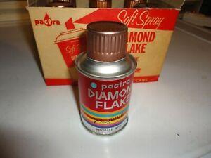 Vintage Pactra Model Spray Paint Case of 6  Paper Label. Bronze Mist.