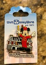 New listing Disney Pin - Mickey Mouse Bandleader Main Street Usa Retro Wdw Dangle - New