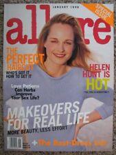 ALLURE 1998 Helen HUNT Audrey HEPBURN Maggie Rizer Natalia Semanova Erykah Badu