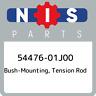 54476-01J00 Nissan Bush-mounting, tension rod 5447601J00, New Genuine OEM Part