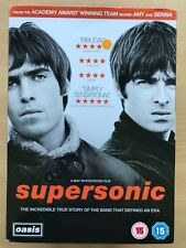 Supersonic ~ 2016 OASIS GALLAGHER Brothers BRITPOP Música Documental GB DVD