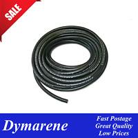 """Black Rubber Fuel Hose 8.0mm (5/16"""") I.D 1M Length Automotive Petrol Diesel Oil"""