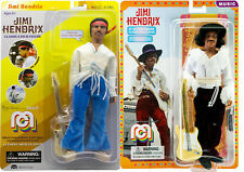 Mego Jimi Hendrix Both new Versions 8 inch Action Figures