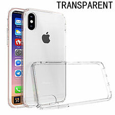 Clear Cushion Premium For iPhone X Transparent Case Bumper Scratch Resistant