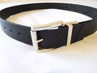 Robert Graham Men Belt 38 BLACK Potter Reversible Belt Retail $98   New Leather