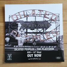 Dilated Peoples The Platform Promo Poster Ultra Rare