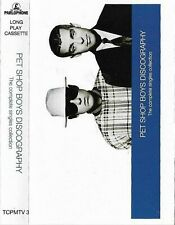 Pet Shop Boys Discography Complete Singles Collection CASSETTE ALBUM Electronic