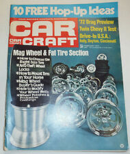 Car Craft Magazine Mag Wheel & Fat Tire Section February 1972 121814R
