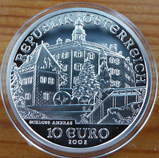 Austria 10 Euro, 2002, Ambras Palace