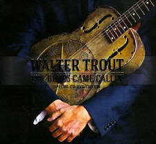 Walter Trout The Blues Came Callin' CD/DVD 2014 Provogue Records Like New