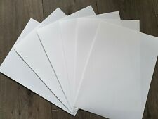 Inkjet Printable 100% Polyester Cotton White Canvas 10 Sheets